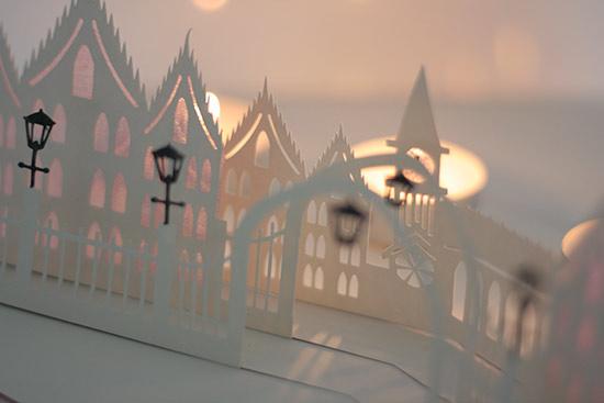3d popup karte torbogen weihnachtszeit designblog. Black Bedroom Furniture Sets. Home Design Ideas