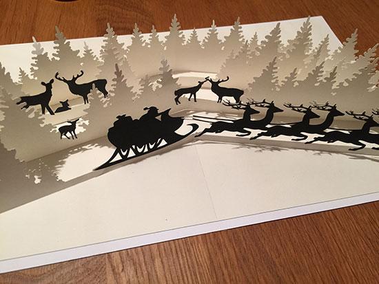 3d popup karte winterwonderland weihnachtszeit designblog. Black Bedroom Furniture Sets. Home Design Ideas